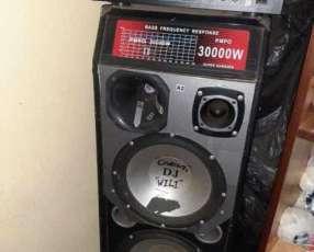 Amplificador con caja