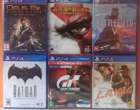 Juegos de PlayStation 4 Nuevos Sellados