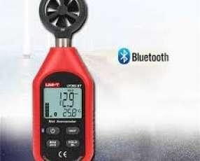 Anenómetro digital conexión bluetooth