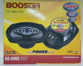 Parlantes ovalados 6x9 booster de 3000watts