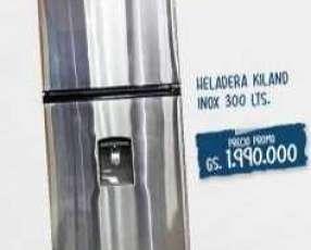 Heladera Kiland inox 294 litros