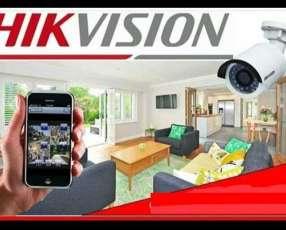Instalación de cámaras de vigilancia y configuración