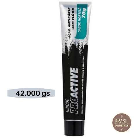 Hinode pro active carbón activado + aloe Vera gel dental