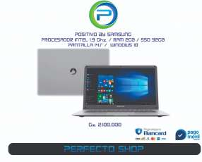 Notebook Positivo by Samsung