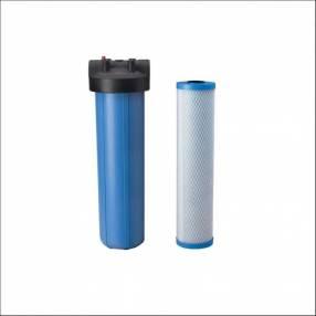 Purificador de agua carcasa BB 20 Pentair y cartucho carbón