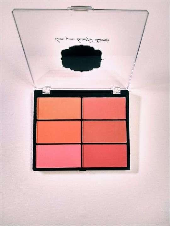 Rubor Lady Queen 6 tonos rosa - 1