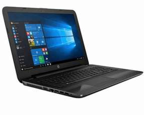 Notebook HP 250 G5 con estuche cargador y mouse