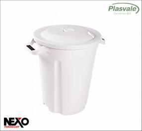 Basurero con tapa 97 litros Plasvale