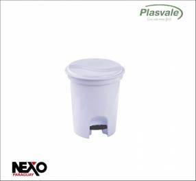 Basurero con pedal 6.5 litros Plasvale