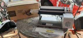 Laminador de masa y cortador de fideo eléctrico