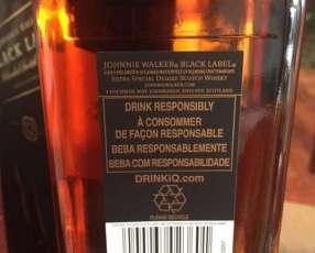 Whisky Johnnie Walker etiqueta negra