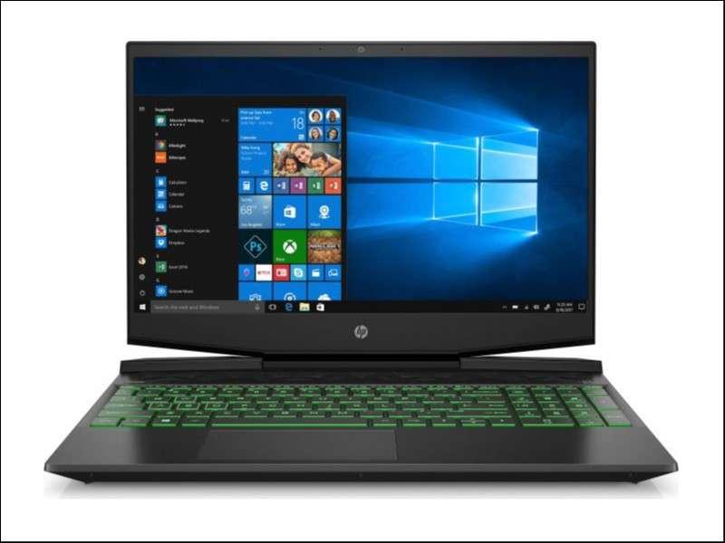 Notebook HP i7 1660TI - 0