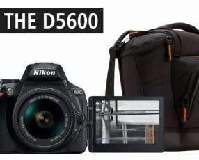 Cámara Nikon D5600 + Bolso