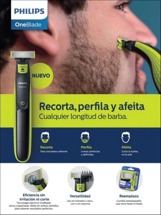 Afeitadora Philips OneBlade - 2