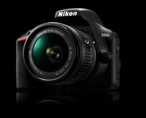 Cámara Nikon D3500 Kit de lentes 18-55mm + 70-300mm.