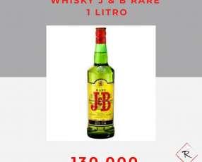 Whisky J&B Rare 1 litro