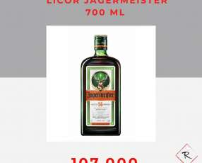 Licor Jågermeister 700ml