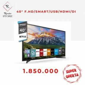 Smart tv hd Samsung hdmi usb 40 pulgadas