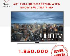 UHD smart tv Samsung 40 pulgadas full hd 3D wifi ultrafina