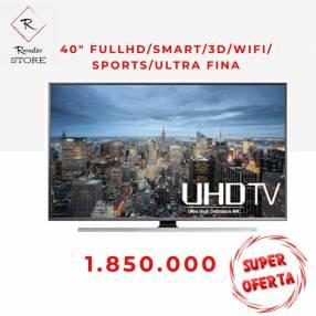 UHD smart tv Samsung 40 pulgadas full hd 3D wifi ultrafina