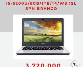 Notebook Acer ES-471-52B9 6 gb 1TB W8