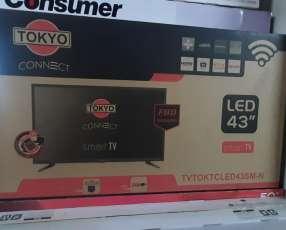Tv LED Smart tokyo full HD de 43 pulgadas