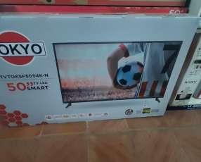 Tv LED Smart tokyo full UHD 4k de 50 pulgadas