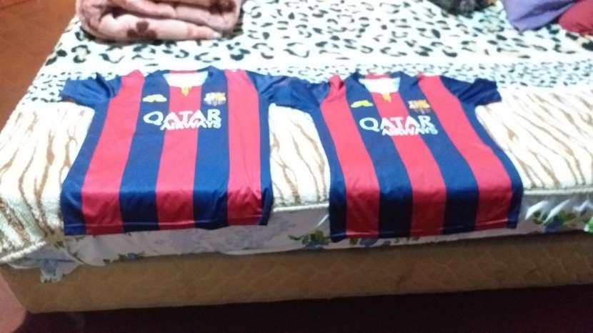 Camisetas del Barcelona talle p con la caja oficial - 0