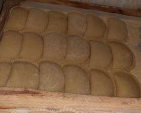 Empanada de mandioca y empanadita