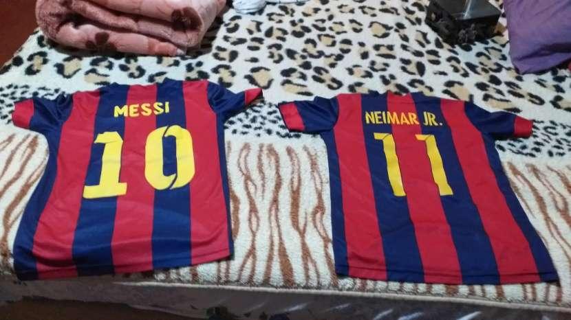 Camisetas del Barcelona talle p con la caja oficial - 1