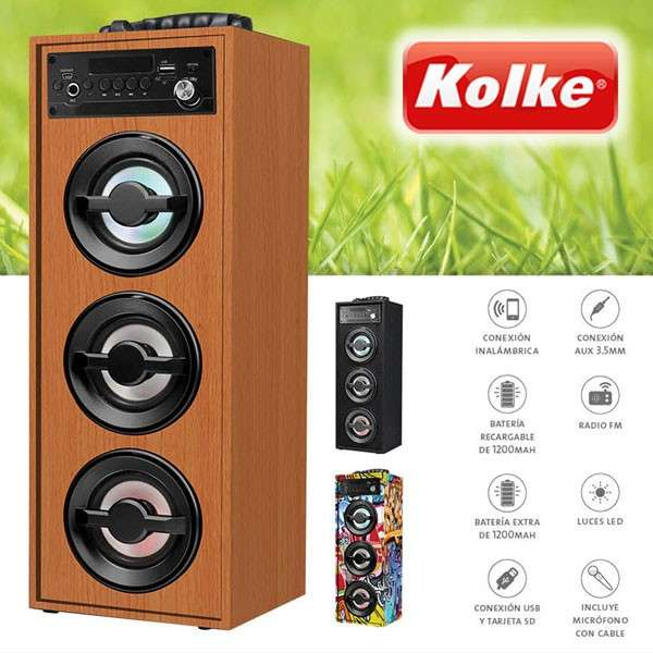 Parlante Portatil ACTION 2 KPM-276 de Kolke - 0