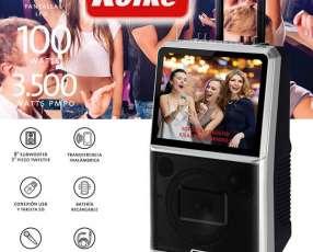 Parlante Kolke Pro-298 karaoke con pantalla 15 pulgadas