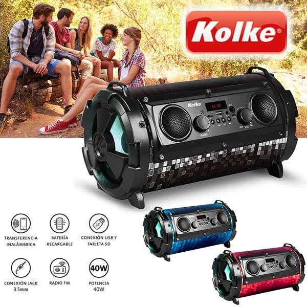Parlante Portatil BOMB KPM-222 de Kolke - 0