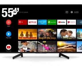 """Televisor Smart Led Sony de 55"""" 4k"""