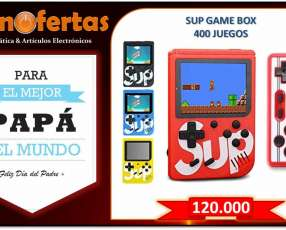 Consola 400 juegos con control (delivery)