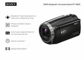 Filmadora Sony HDR-CX675 FHD