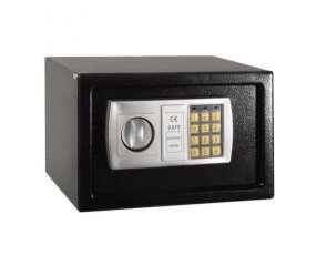 Caja fuerte con teclado digital negra hw49693bk