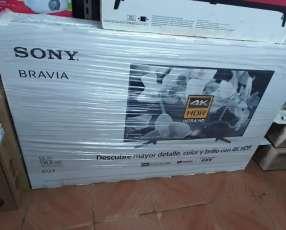 Tv LED Smart Sony bravía full UHD 4k de 55 pulgadas