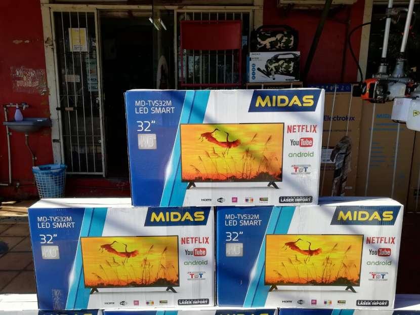 Tv Led smart midas 32 pulgadas hd - 1
