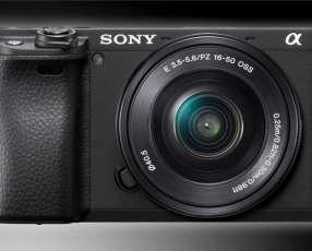 Cámara Sony Aplha A6400 kit 16-50mm