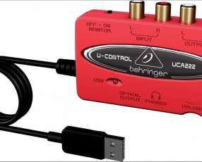 Interfase grabación y reproducción UCA 222
