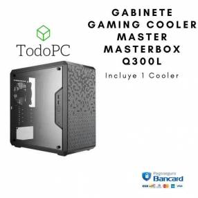 Gabinete Gaming Cooler Master Masterbox Q300L