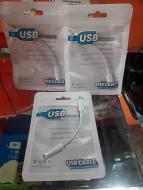 Cable adaptador de auricular para iPhone