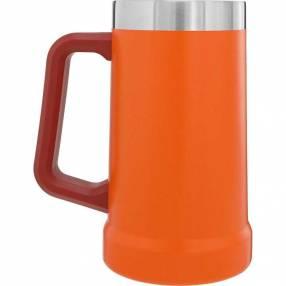 Chopera con manija Stanley color naranja