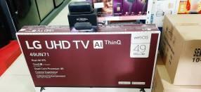 TV LED Smart LG UHD 4K de 49 pulgadas + parlante LG XBOOM PK3