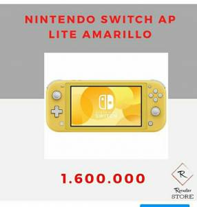Nintendo Switch AP Lite amarillo