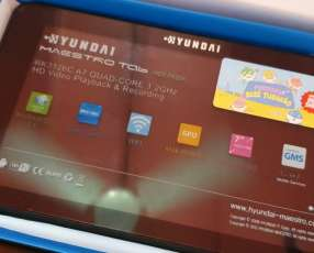 Tablet hyundai solo wifi + estuche de regalo!