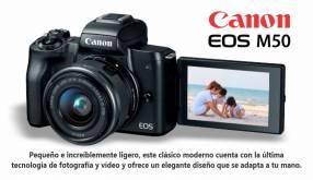 Cámara Canon EOS M50 kit 15-45mm