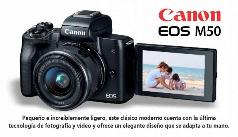 Cámara Canon EOS M50 kit 15-45mm - 0