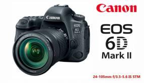 Cámara Canon EOS 6D Mark II Kit 24-105mm